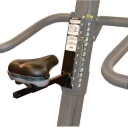 Close up of the VersaClimber Adjustable Seat Accessory