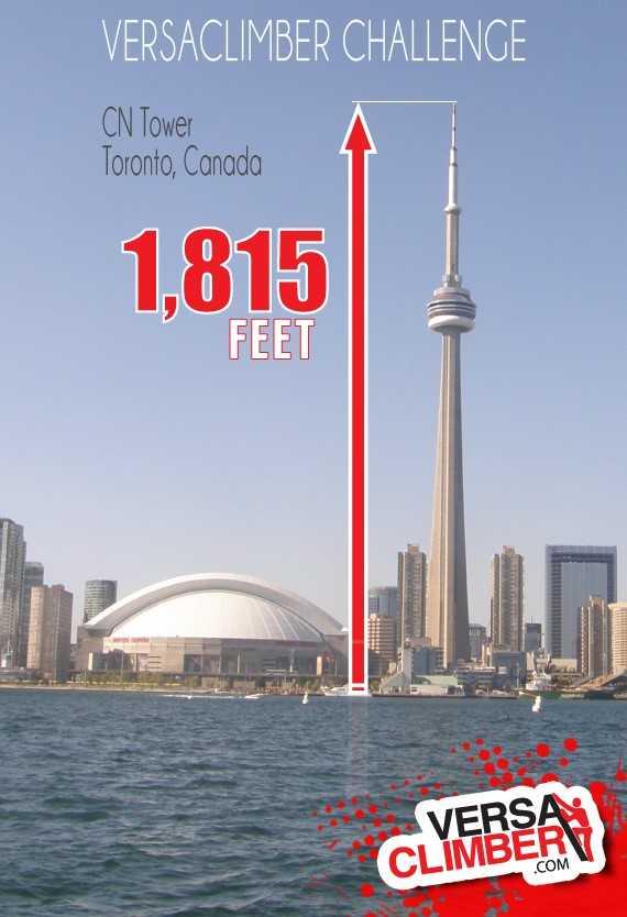 Let S Climb Cn Tower Toronto Versaclimber