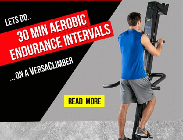workout of the week 56 versaclimber fitness