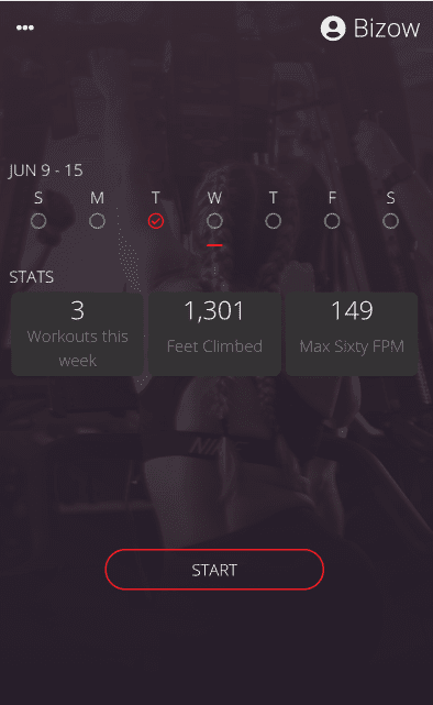 TS VersaClimber Vertical Climbing Display Module Statistics
