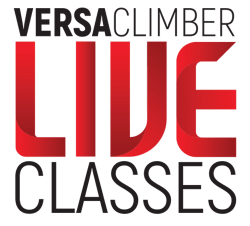 VersaClimber connective at home training.